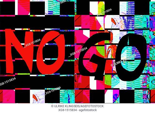no-go sign