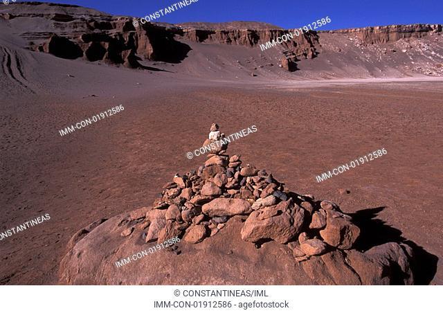 Valle de la Luna Moon Valley Andes Mountain Range, Chile, South America