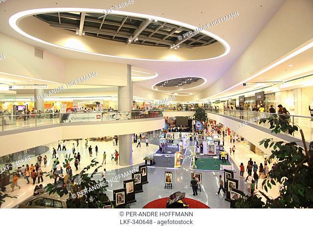 Greenbelt 5 shopping mall in Makati, Manila, Makati City, Manila, Luzon Island, Philippines, Asia