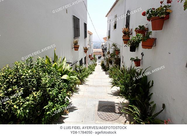 Mijas village, Malaga, Andalucia, Spain, Europe