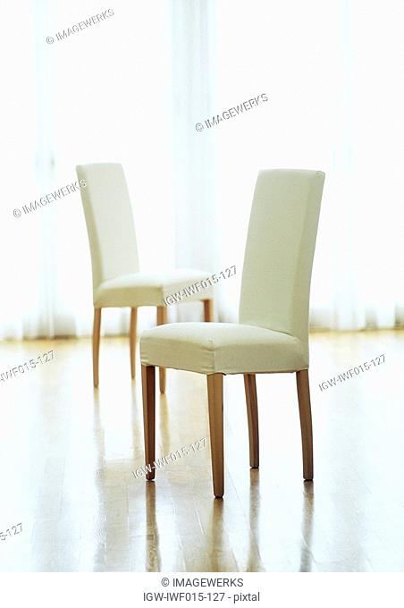 Chairs in a room