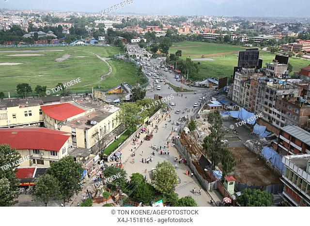 city centre of Kathmandu, Nepal