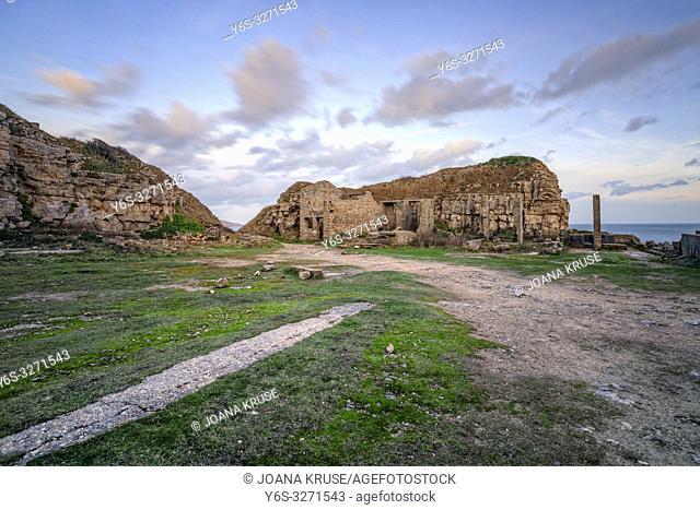 Winspit Quarry, Purbeck, Jurassic Coast, Dorset, England
