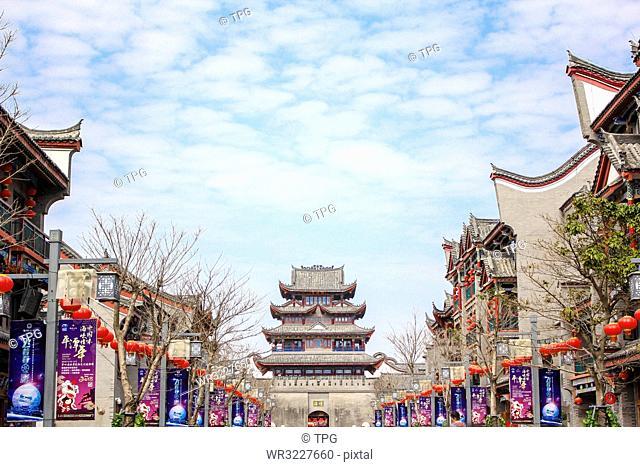 Haitang ancient city;China