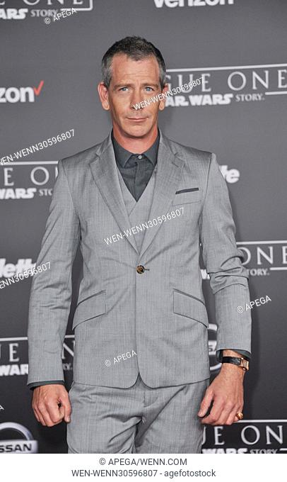 World premiere of 'Rogue One: A Star Wars Story' held at Pantages Theatre - Arrivals Featuring: Ben Mendelsohn Where: Los Angeles, California