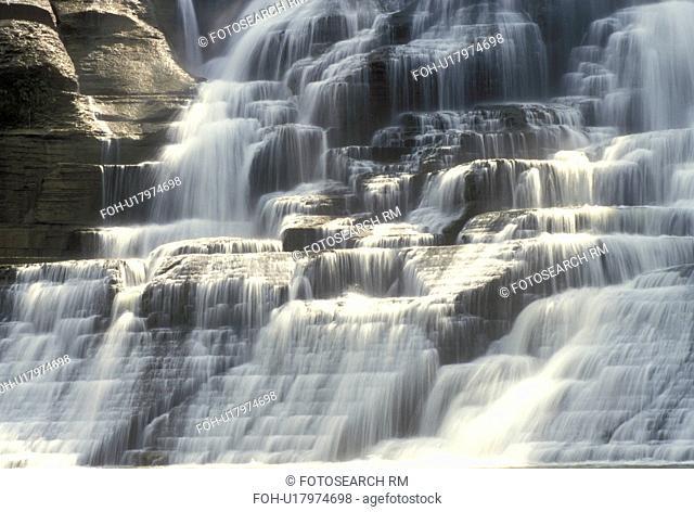 waterfall, Ithaca, NY, New York, Finger Lakes, Ithaca Falls