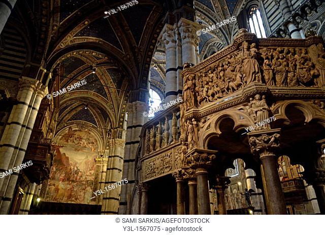 Duomo cathedral, Siena, Tuscany, Italy
