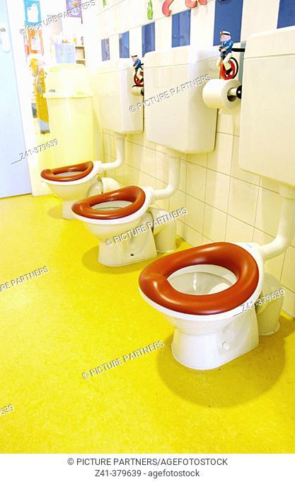 Childrens toilet seats