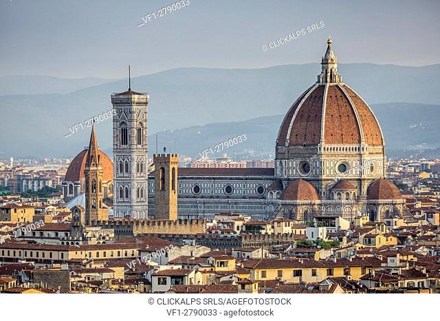 Santa Maria del Fiore cathedral in Florence, Tuscany, Italy