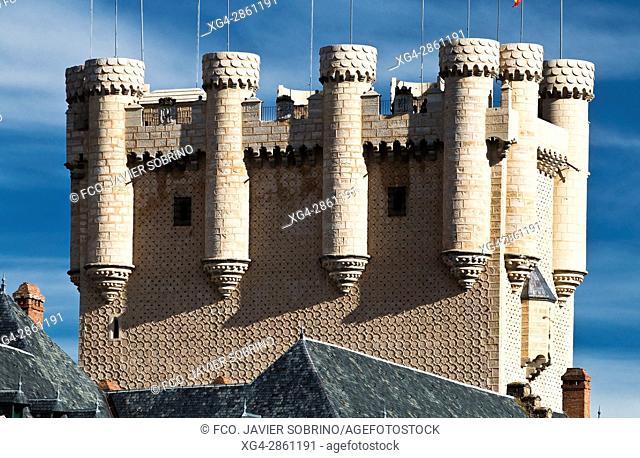 Alcázar de Segovia - Torre de Juan II - Castilla-León - España - Europa