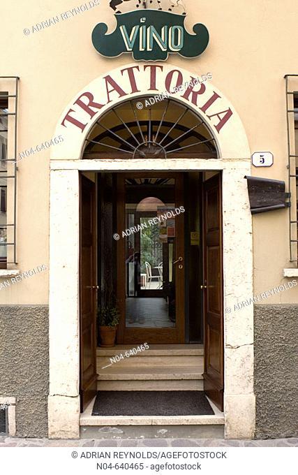 Trattoria. Mantua. Lombardy. Italy