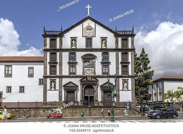 Praca do Municipio, Funchal, Madeira, Portugal, Europe