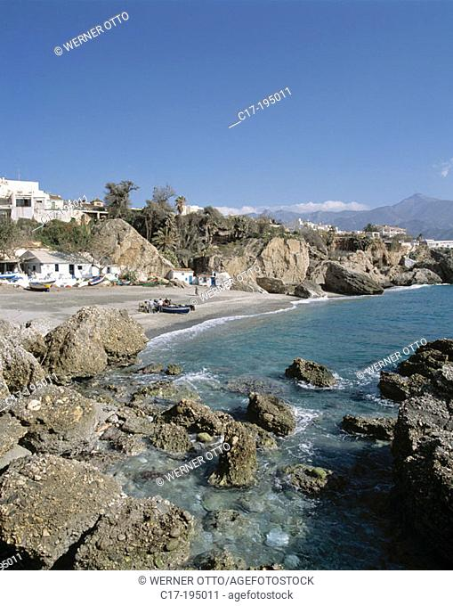 Spain, Andalusia, Costa del Sol, Nerja