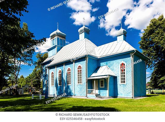 orthodox church, Dubicze Cerkiewne, Podlaskie Voivodeship, Poland