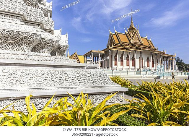 Cambodia, Phnom Penh, the Silver Pagoda