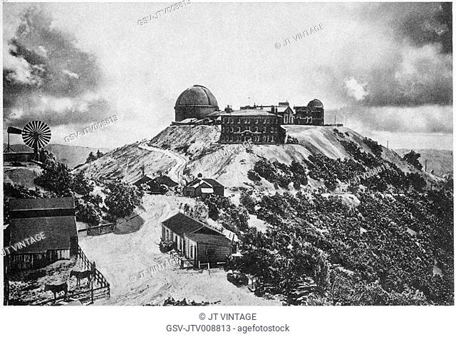 Lick Observatory, astronomy, California, historical