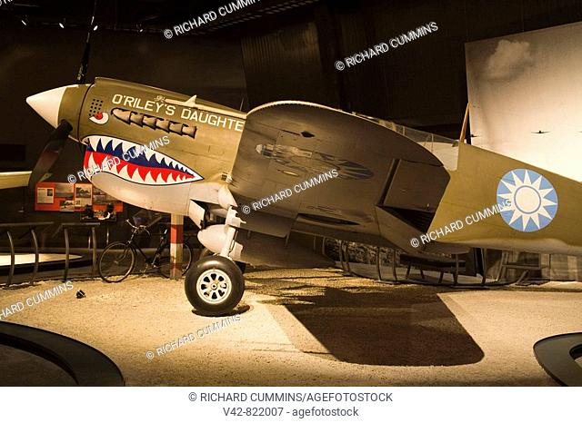 Curtiss P-40 Warhawk, Museum of Flight, Seattle, Washington State, USA