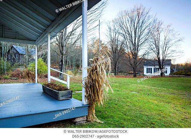 USA, New Jersey, Delaware Water Gap National Recreation Area, Millbrook Village, 19th century village