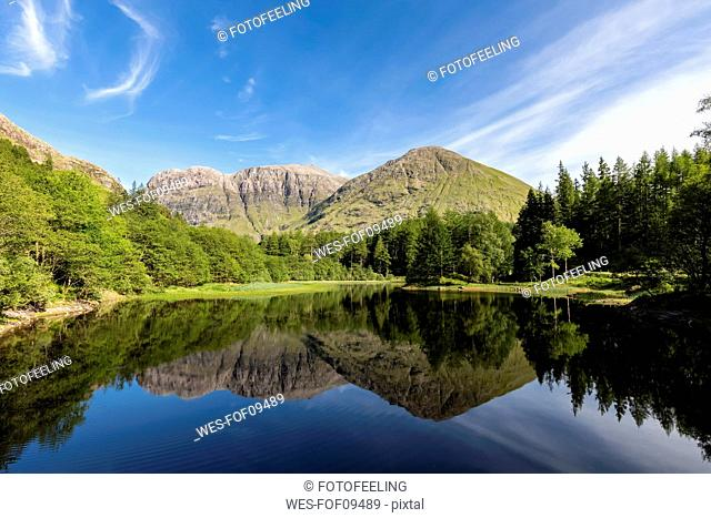 Great Britain, Scotland, Scottish Highlands, Glencoe, Torren Lochan
