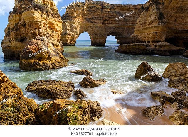Algarve, Marinha beach, Portugal, Europe, Atlantic ocean, Seven Valleys trail