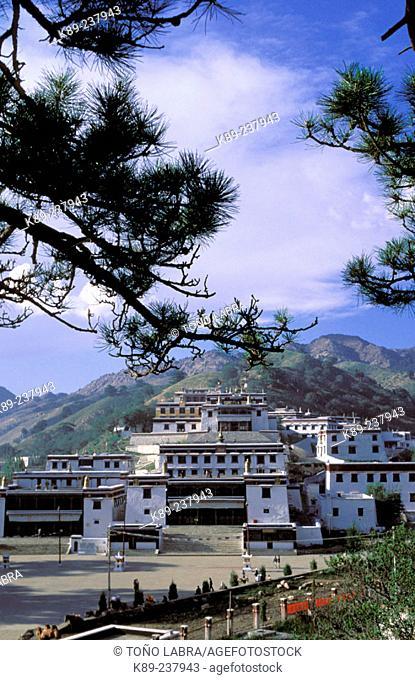 Wu Dang lamasery. Inner Mongolia. China