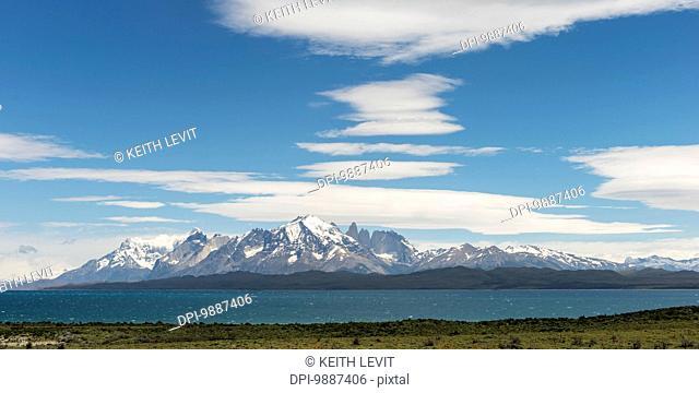 Lake Sarmiento, Torres del Paine National Park; Torres del Paine, Magallanes and Antartica Chilena Region, Chile