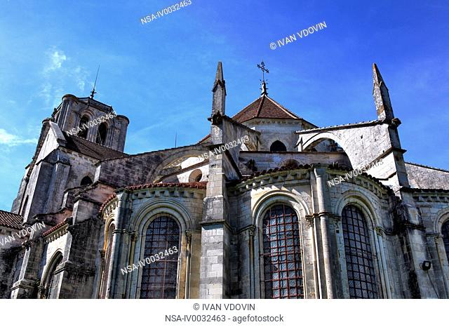 Church Sainte Marie Madeleine Basilica of St. Magdalene, Vezelay, Yonne department, Burgundy, France