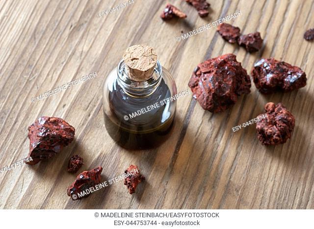 Croton lechleri, or sangre de drago oil and resin