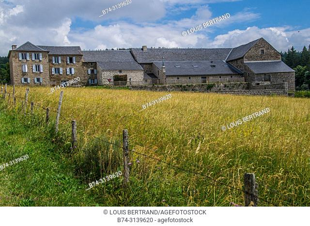 field of the wild in high Loire in Auvergne