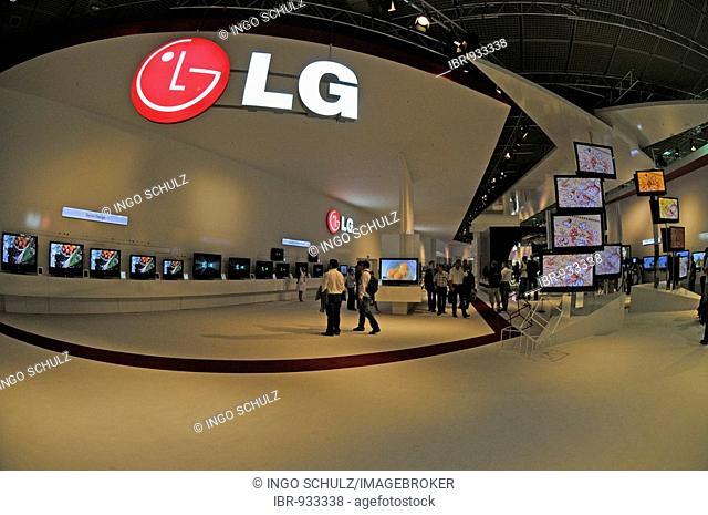 LG hall, International Radio Exhibition IFA, Berlin, Germany, Europe