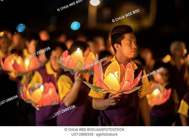 2017 Wesak Day Celebrations in Kuching, Sarawak, Malaysia