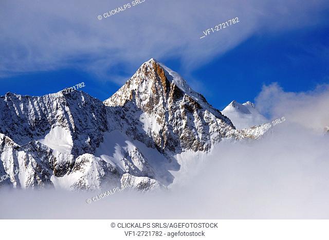 Mountain in Switzerland, Bettmeralp, Canton Valais