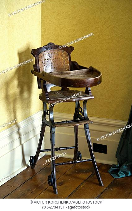 Edwardian period antique child chair