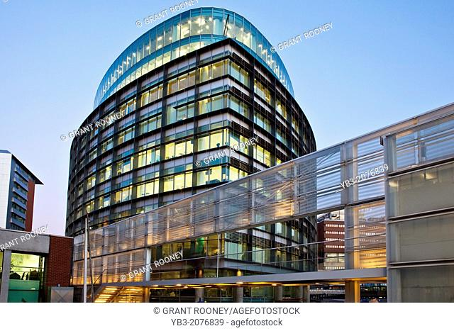 Office Building, Paddington Basin Development, London, England