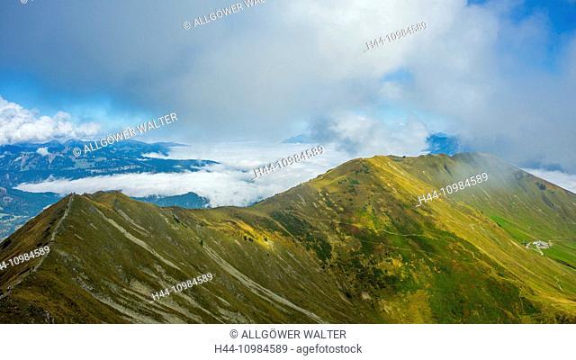 Fellhorn in the Allgäu Alps