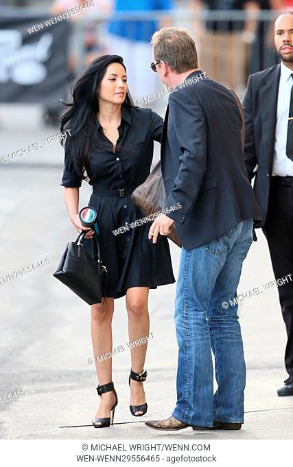 Kiefer Sutherland seen leaving the ABC studios after Jimmy Kimmel Live Featuring: Kiefer Sutherland Where: Los Angeles, California