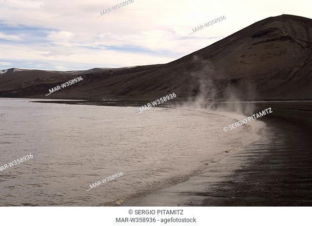 Antarctica, South Shetlands Islands, Deception Island