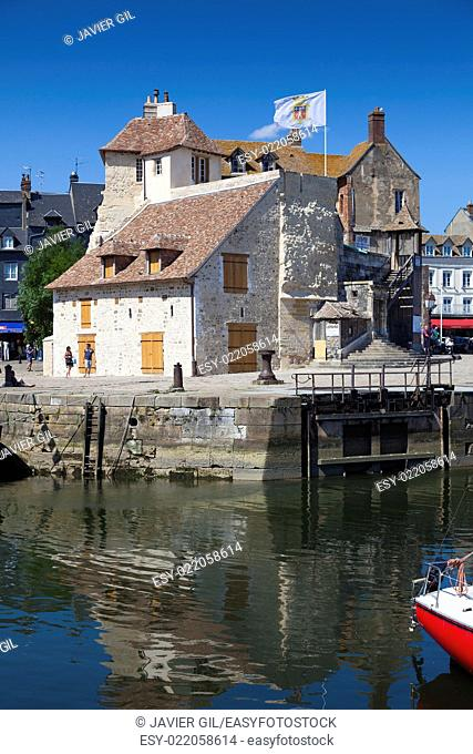 Port of Honfleur, Calvados, Normandy, France