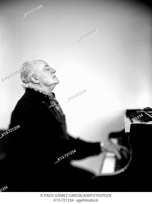 Paco Miranda, former pianist of Hotel Ritz in Madrid