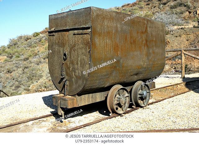 Old mining site.'La Unión', Cartagena, Murcia, España, Europa