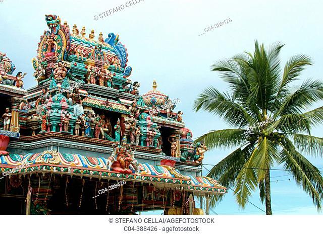 Temple at Penang Hill, George Town. Penang, Malaysia