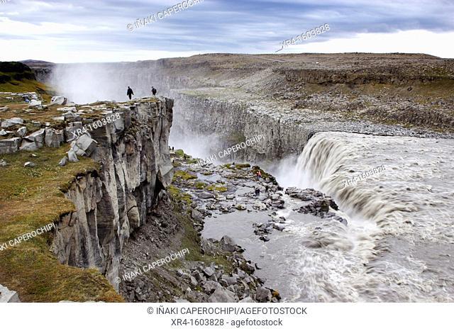 Dettifoss Waterfall, Jökulsá á Fjöllum river, Iceland
