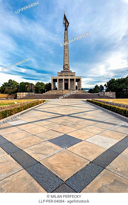 Slavin, War Memorial, Bratislava, Slovakia