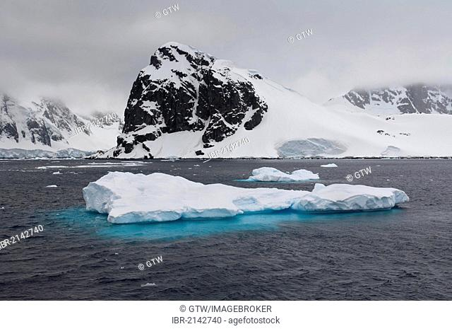 Ice floe, Cuverville Island, Antarctic Peninsula