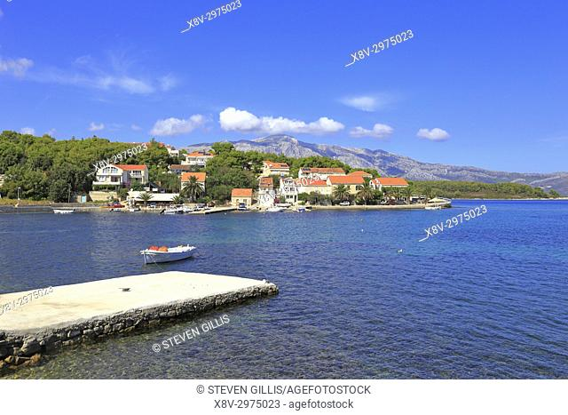 Lumbarda, Korcula Island, Croatia, Dalmatia, Dalmatian Coast, Europe