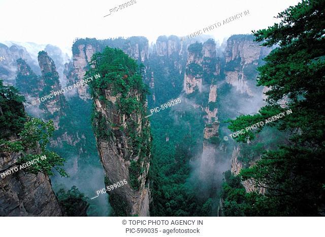 Zhangjiajie,Hunan,China