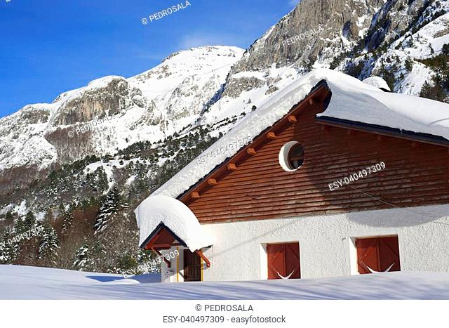 Chalet located in Canfranc Valley, Pyrenees, Huesca, Aragon, Spain