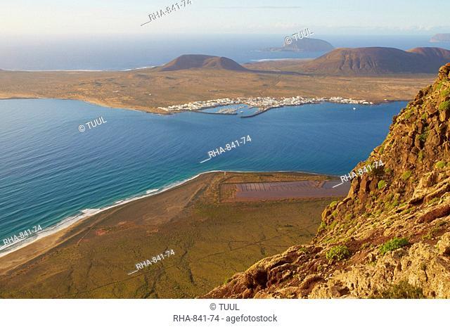 Mirador del Rio, Ile Graciosa, Lanzarote, Canary Islands, Spain, Atlantic Ocean, Europe