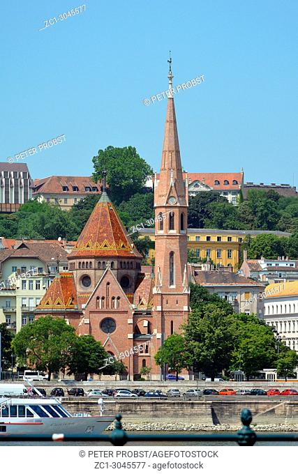 Calvinist church in the Buda district of the Hungarian capital Budapest - Hungary