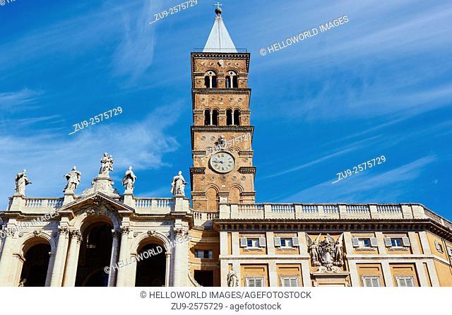 Basilica Di Santa Maria Maggiore, Piazza Di Santa Maria Maggiore, Rome, Lazio, Italy, Europe